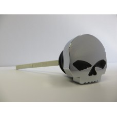 Factory Products, Chrome Skull Dip Stick, FLST/FXST