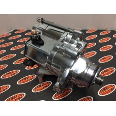 12 Volt Start Motor for 2007 & Later FXST,FLHT and 2006 and Later Dyna, Chrome Plated. OEM#:31619-06