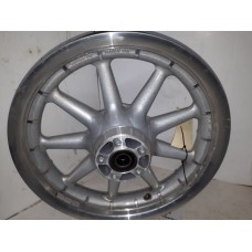 "USED - 2006 FLTR Front Rim - 9 spoke - Silver - 16"" - 3/4"" bearing - OEM 43421-00 - ID 1131"