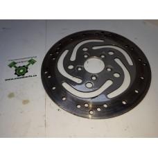 USED - 2006 FLTR Rear Brake Rotor Disc - Chrome - OEM 41797-00 - ID 1148