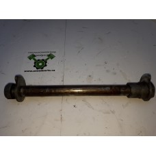"""USED - 2006 Road Glide 1 """" Rear Axle with spacers - OEM 41056-02 - ID 1154"""