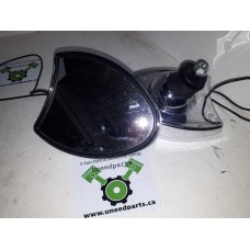 USED - Fairing Mounted Chrome Mirrors with side signal light indicator - ID 1220