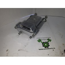 """USED - 2000 Sportster 5"""" Handle Bar Risers with indicator light mount - Chrome - ID 1263"""