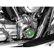 CHROME TWIN CAM TAPPET BLOCK ACCENT COVER