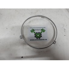 "USED - FLH 7"" Headlight retainer ring - Chrome - OEM 67726-08 - ID 1476"