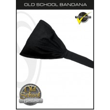 Schampa Old School Bandana Solid Black