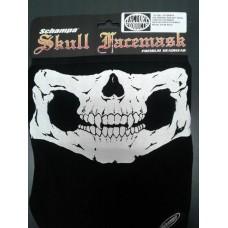 Schampa Premium Velcro Skull Mask