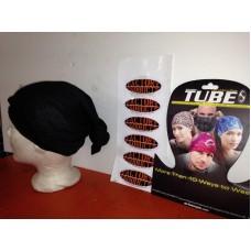 SCHAMPA TUBE Multi-Function Headwear - Black,