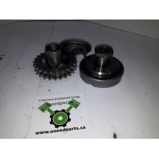 USED - 96 FLHR Front Compensator Sprocket - 25T - OEM 40308-94 - ID 1521
