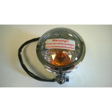Factory Products, Chrome Spot Light WITH Turn Signal