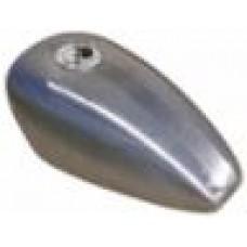 RUBBER MOUNTED GAS TANK, KING 3.4 GALLON,  95/L* XL