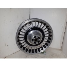 USED - 2009 FLHT  Turbine style wheel - 17 X 3 - Front - ID 2130