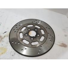 USED - 92-99 FLHT Front Brake Rotor Disc - OEM 44136-92 - ID 2208