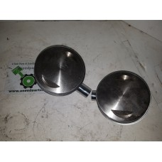 "USED - Wiesco Pistons (pair) new take off - 3.885 in  pair  .010 in over - 103"" T/C - OEM 0911-0023 - ID 2474"