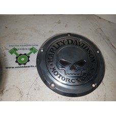 USED - Touring - Dyna - Willie G Skull Derby Cover - 5 bolt  - OEM 25700478 - ID 2487