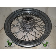 "USED - 2003 Touring Front Laced wheel - 40 spoke 16"" - OEM 40960-00 - ID 2534"