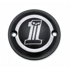 Harley Davidson OEM Dark Custom Timer Cover, 25600064 - ID 1641