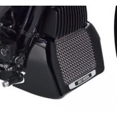 Harley-Davidson OEM Genuine  Oil Cooler Cover M8 Touring Models Black 25700634