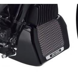 Harley-Davidson OEM Genuine  Oil Cooler Cover M8 Touring Models Black 25700634 - ID 1601