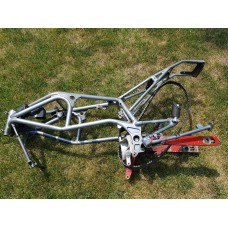 USED - 1997 Buell S3T Thunderbolt Frame with valid Ontario ownership - NOT BRANDED - OEM 47135-97A - ID 2613