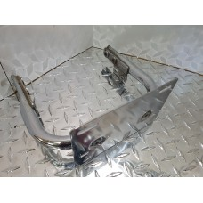 USED - 97-08 FLH frame cross brace with licence plate bracket - OEM 53422-97 - ID 2797