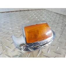 USED - 97-13 FLH Front fender tip light - OEM 68706-00 - ID 2853