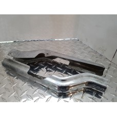 USED - 97-08 FLH Chrome frame guards - pair - OEM 47502-97/47504-97 - ID 2864