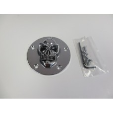 Factory Products, 3D Chrome Skull Point Cover, 99-08
