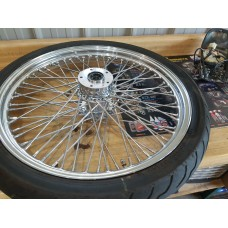 "USED - 1995 FXWG -  21"" Laced front wheel - OEM 43671-84C - ID 3014"
