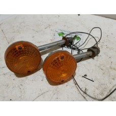 USED - Amber signal lights - Early - pair - ID 3024
