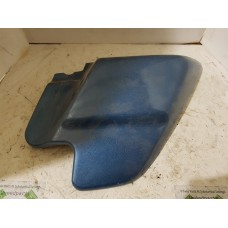 USED - 97-08 Frame Side cover - right  - blue - cut for sidecar mount -  lower mount  broke  - OEM 66670-97 - ID 3043