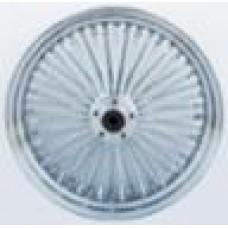 WHEEL,K/SPOKE,REAR CHROME,18X3.5 37-509