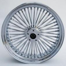 WHEEL,K/SPOKE,REAR CHROME,18X5.5   37-510