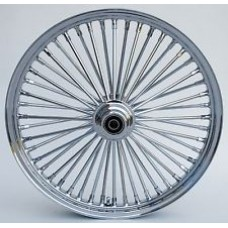FACTORY PRODUCTS 26 X 3.5 SINGLE DISC FAT 48 SPOKE  CHROME