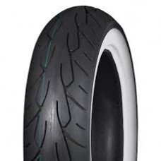 VEE RUBBER 140/75 B17 TL VRM-302R WIDE WHITE WALL TIRE