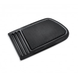 Harley Davidson OEM  Defiance Brake Pedal Pad, Large, Black, Anodized, 50600185 - ID 1608
