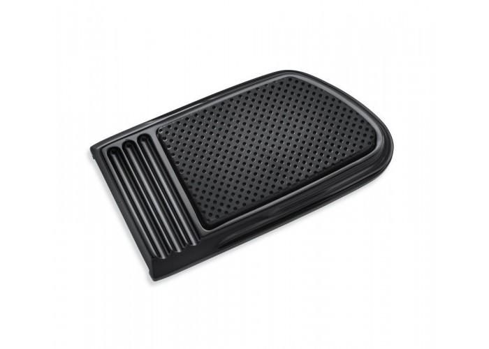 Harley Davidson OEM  Defiance Brake Pedal Pad, Large, Black, Anodized, 50600185