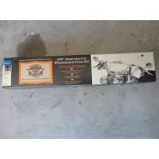 Harley Davidson 100th Anniversary Windshield Trim Kit for FLSTC,FLSTF, FLUR 57126-02