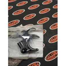 OEM 58740-05 HARLEY DAVIDSON - 41mm QUICK RELEASE CLAMP - CHROME - SOLD EACH - GENTLY USED