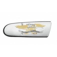 NEW - GENUINE HARLEY DAVIDSON -Live To Ride Air Cleaner Trim - OEM 61300656