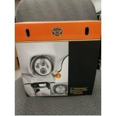 """Harley-Davidson 7"""" chrome daymaker projector led headlamp.  #67700265"""