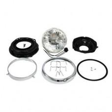 "7"" Headlamp Assembly for 1960-84 Harley FL OEM 67702-81"