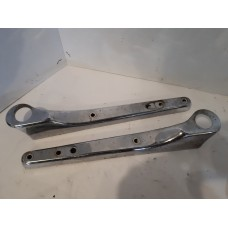 USED - 1999 Sportster Custom Rear Frame Guards (pair)