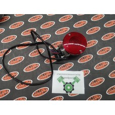 NEW - COMPLETE LATE RED TURN SIGNAL - 1986-1999 Touring FLH/FLT FLHS - GENUINE HARLEY DAVIDSON PART - SOLD EACH