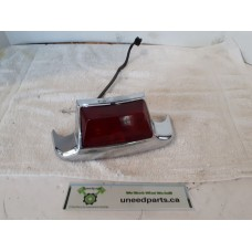 USED - FLH Rear Fender tip light with wiring, OEM-59672-99