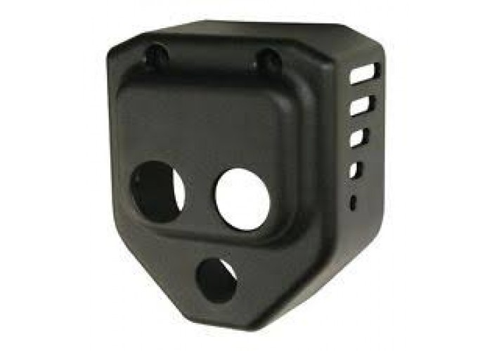 Vented Coil Cover, Black
