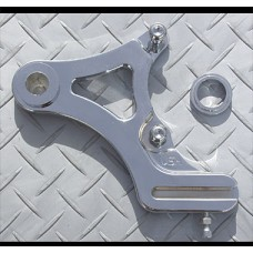 Factory Products, Rear Chrome Plated FXST Caliper Mount.