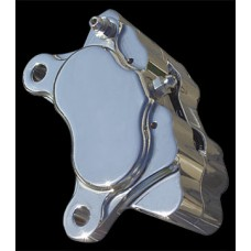 Factory Products, Chrome Plated Four Piston Brake Caliper.
