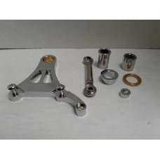 Factory Products, C/P Springer Caliper Mounting Bracket Kit.