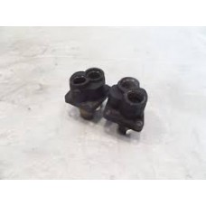 TAPPET BLOCKS, EVO/ BIG TWIN, STOCK, BLACK